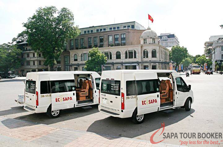 Bus Limousine to Sapa